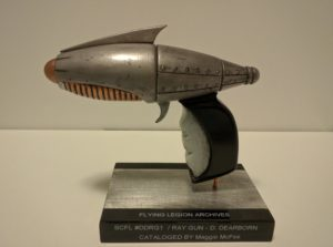 Sky Captain and the World of Tomorrow ray gun replica by Maggie McFee